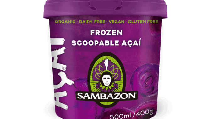 Sambazon Scoopable Açaí 500ml tub