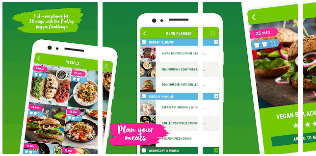 veggie challenge app proveg vivera