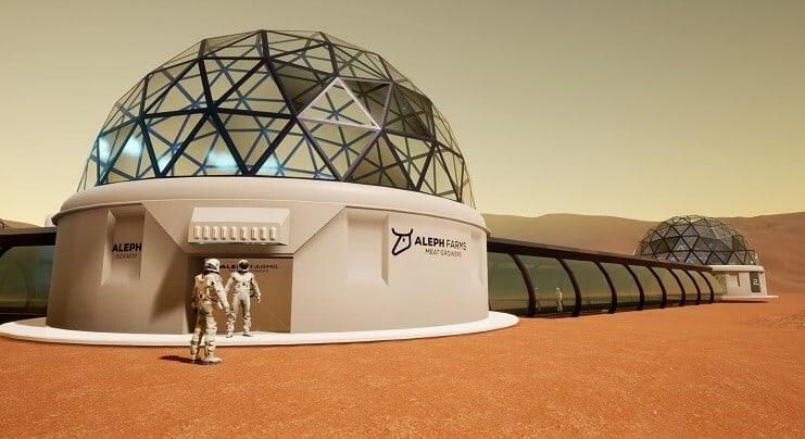 Space BioFarms - Aleph Farms space program Aleph Zero 2