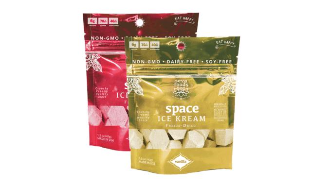Space Ice Kream: veganes gefriergetrocknetes Eis