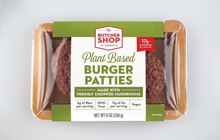 Sprouts Farmers Market burger