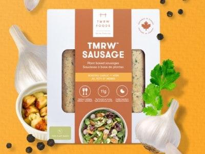 TMRW Foods sausage