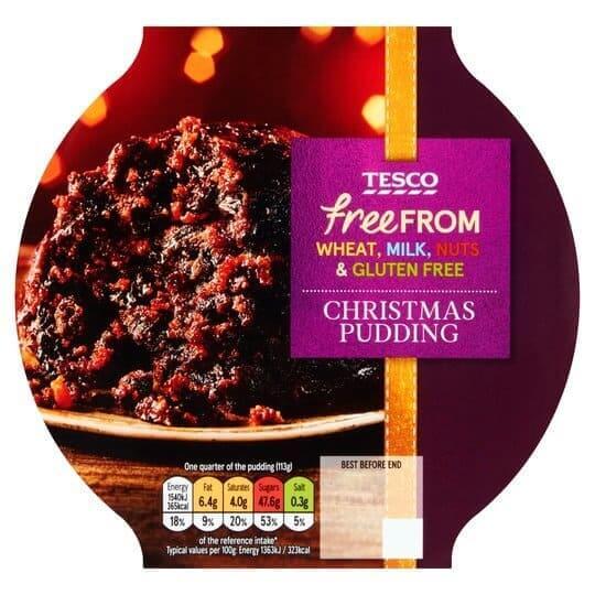 Tesco christmas pudding