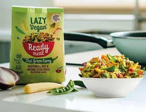 Thai Green Curry Lazy Vegan