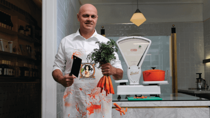 The Vegetarian Butcher CEO Jaap Korteweg