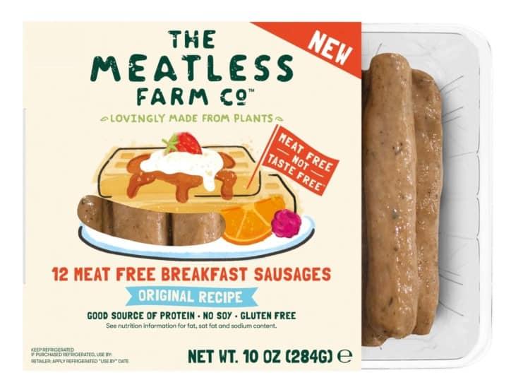 The Meatless Farm Co Breakfast Sausage Links