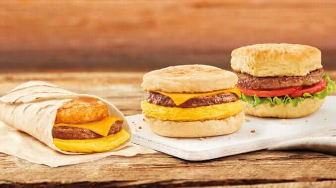 Tim Hortons-Beyond Meat- Breakfast Sandwiches Are Now Available