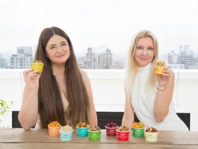 Tiny Organics founders Betsy Fore & Sofia Laurell