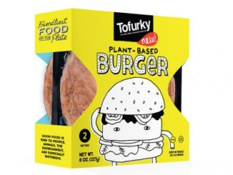 Tofurky burger