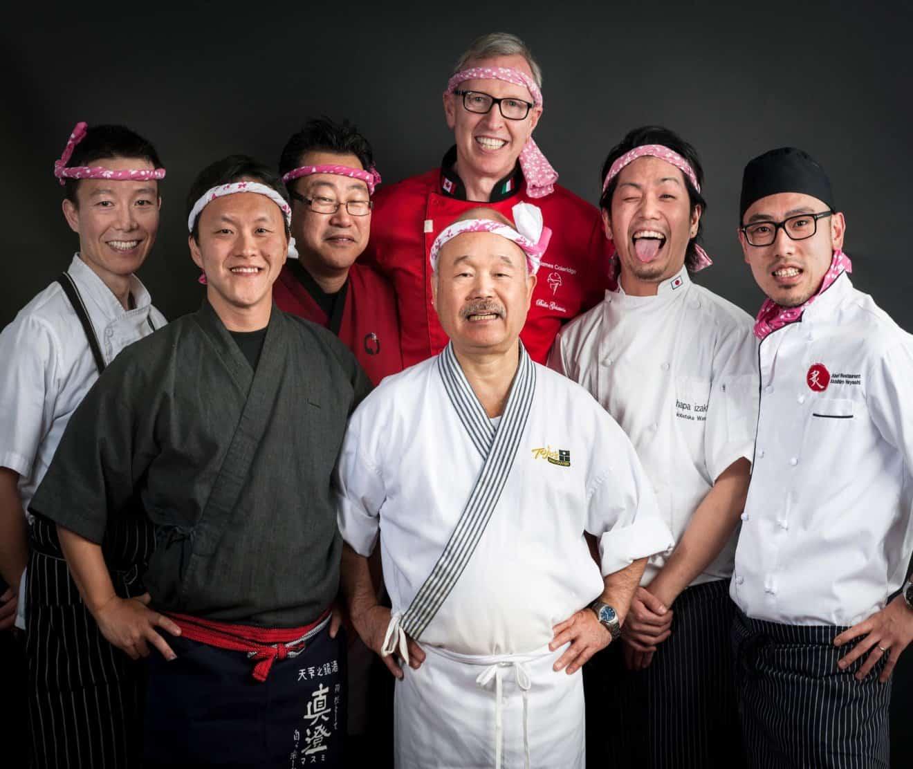Japanese Master Chef Hidekazu Tojo is Seriously Impressed with Vegan Wagyu