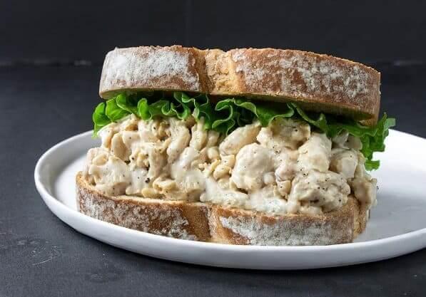 Toona Salad Sandwich Sophie's Kitchen