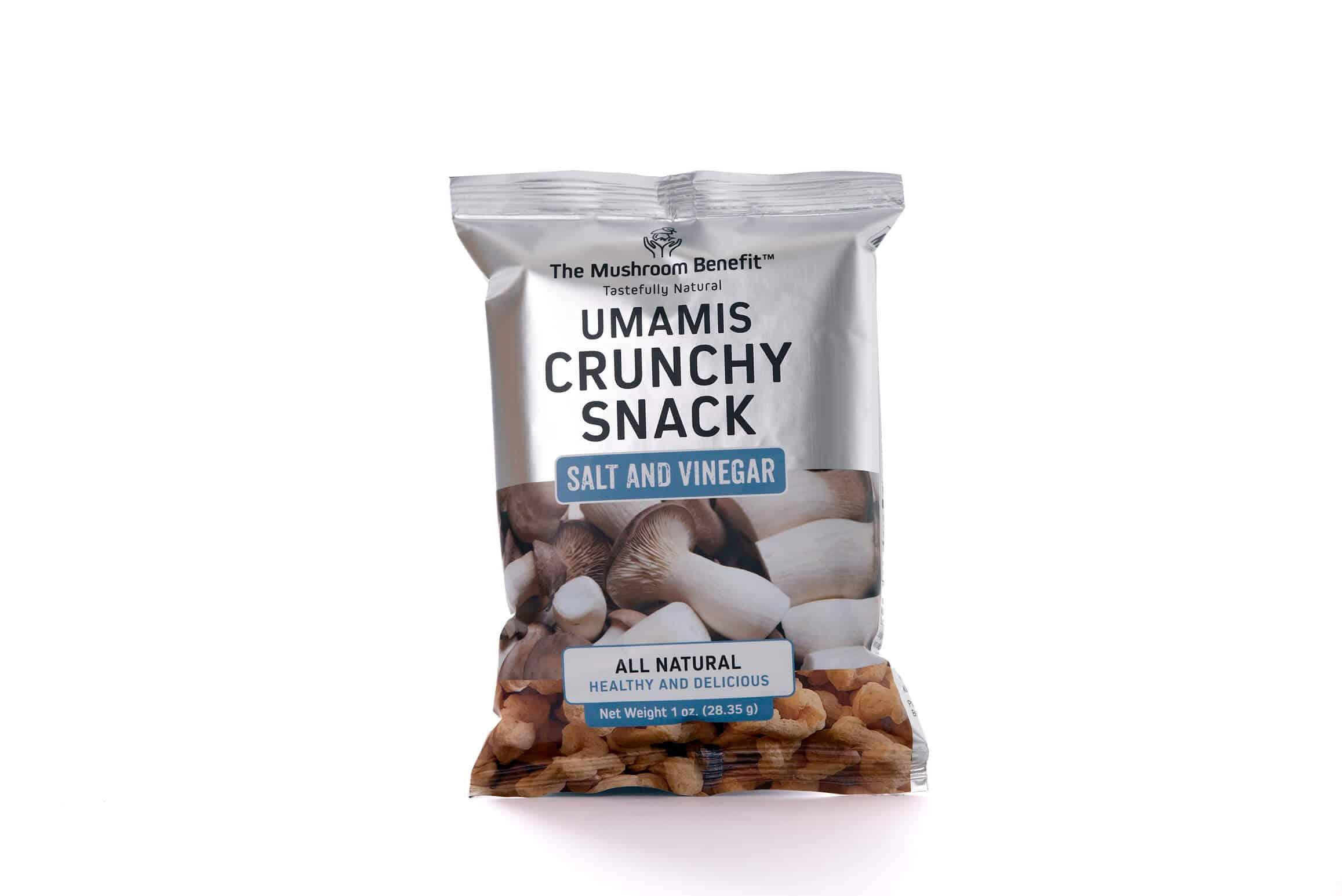 Umamis Crunch snack Salt n vinegar TMB