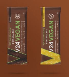 V24 Vegan bars