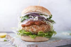 Vegan Burg Curry Dhal Burger-3