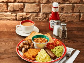 Frankie & Benny's Vegan Breakfast