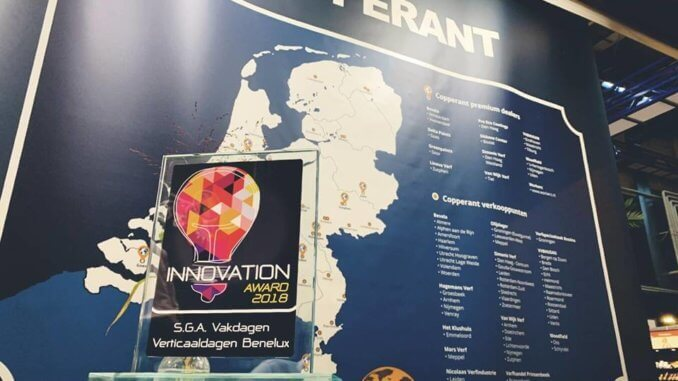 Winnaar Innovation Award 2018