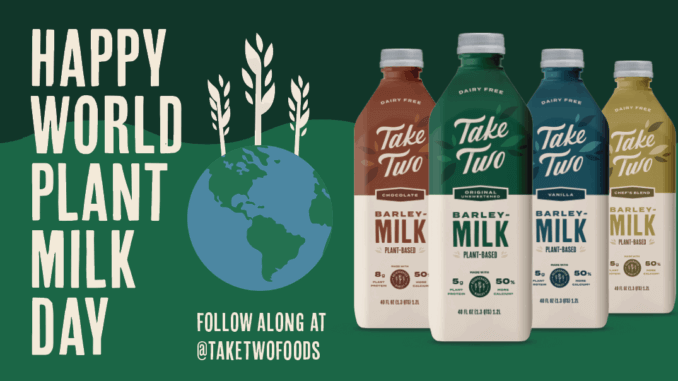 Take Two World Plant Milk Day