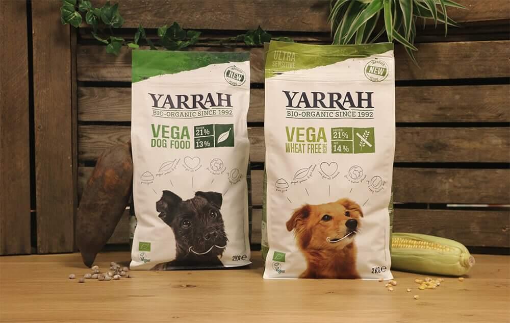 Yarrah vegetarian dog food