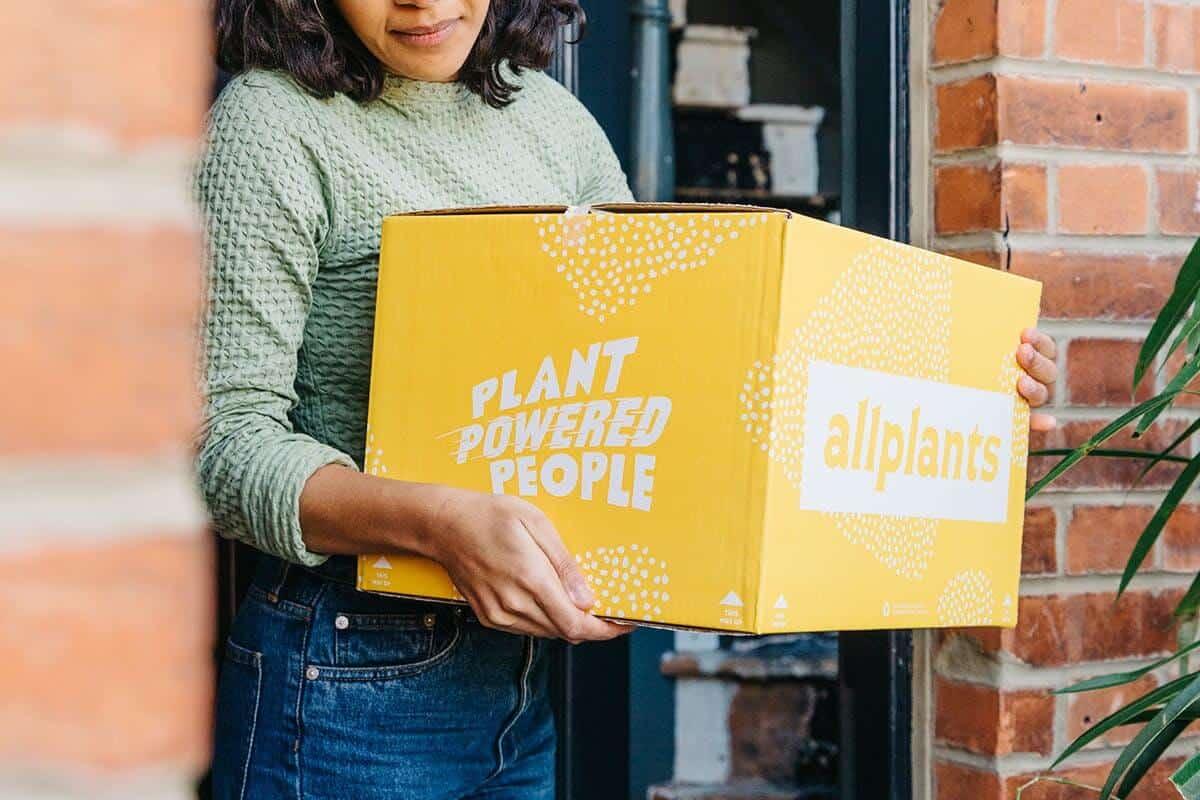 UK Delivery Service AllPlants Raises £2 million in 48 hours