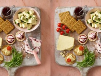 ASDA vegan cheese board