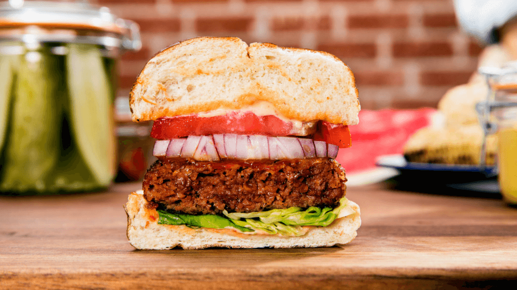 veganer Beyond Burger von Beyond Meat