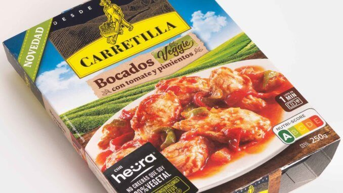 Spanish ready meal brand Carretilla has launched a vegan ready meal in collaboration with Heura.