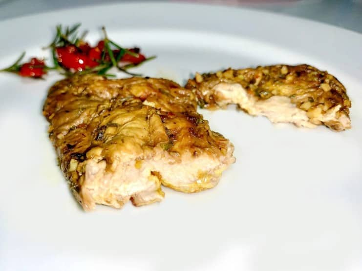 chicken fillet Kinoko Labs