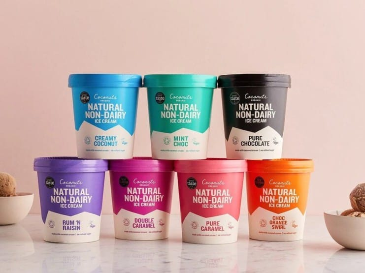 New brands Coconuts Organic and Banana Scoops are taking the world of plant-based ice creams by storm in the UK.