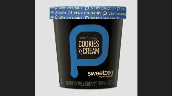 SweetPea chickpea ice cream