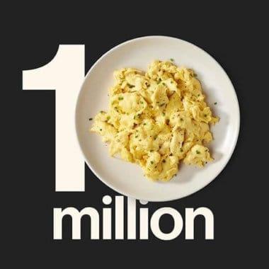 JUST Egg Announces Walmart Launch and Millionth Unit Sold
