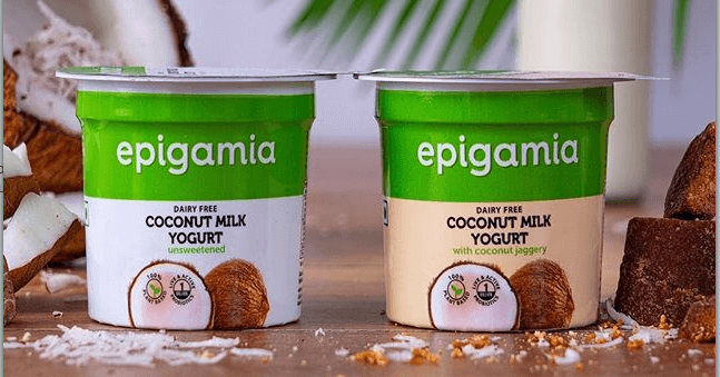 Epigamia, an Indian startup, has launched the country's first plant-based coconut yogurt. It's available in two flavours - unsweetened and coconut jaggery.