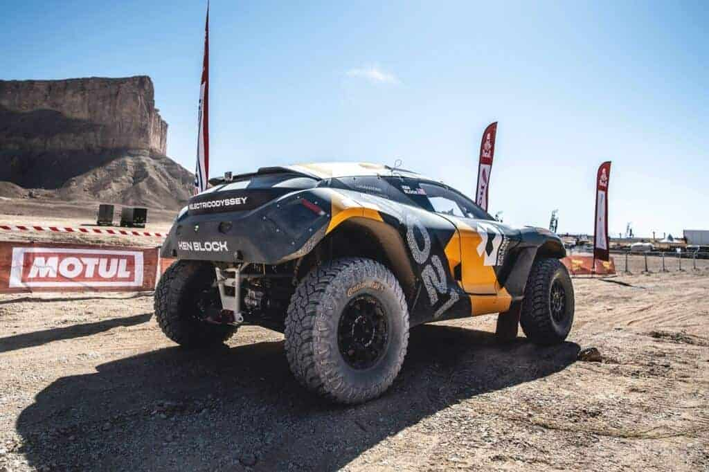 Extreme E electric off road