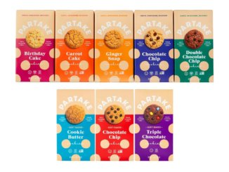 Partake allergen-free cookies