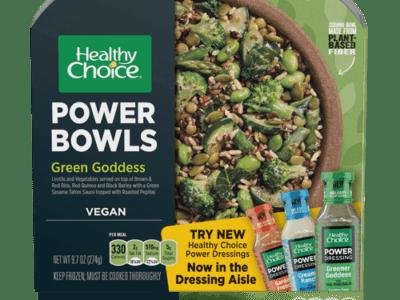 Conagra Brands, Healthy Choice, power bowls, vegan