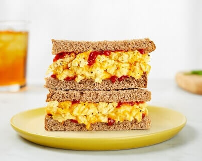 just egg sandwich