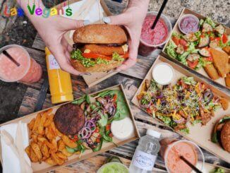 Las Vegans at Vegan Garden