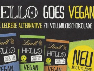 "Swiss chocolate company Lindt has announced it is adding three vegan ""milk"" chocolate bars to its HELLO range in Germany."
