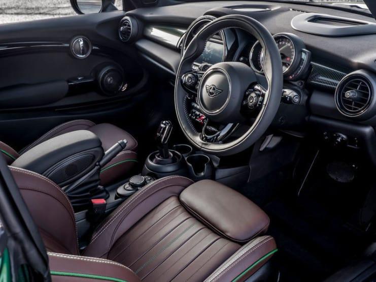 BMW Mini leather-free