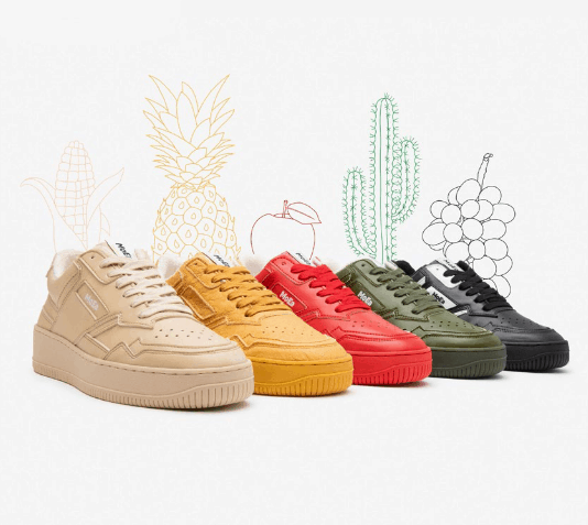 MoEa vegan leather sneakers