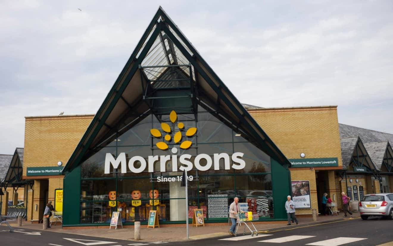 Morrisons Cashes in on Veganism