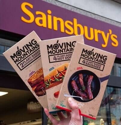 Moving mountains Sainburys