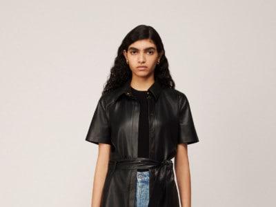 Nanushka vegan leather