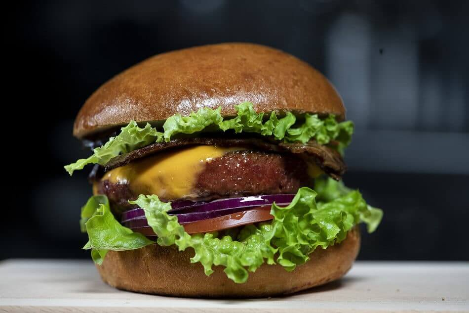 Nestle PB Triple Play Burger