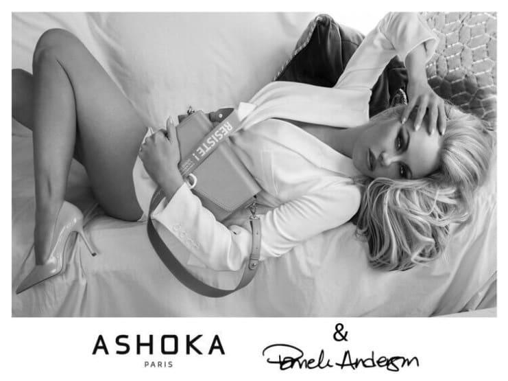 Pamela Anderson ASHOKA bags