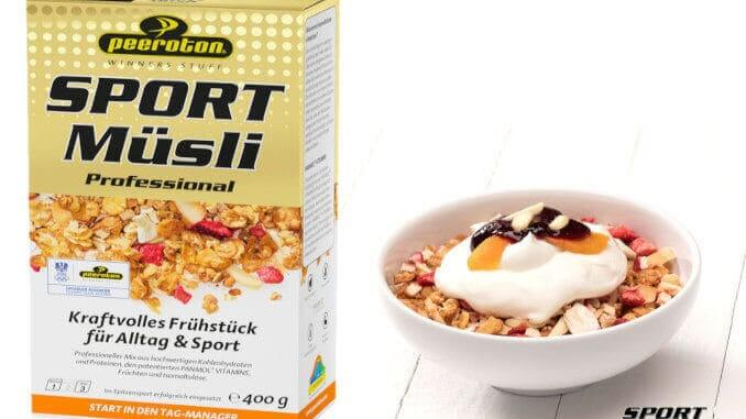 peeroton sports cereals