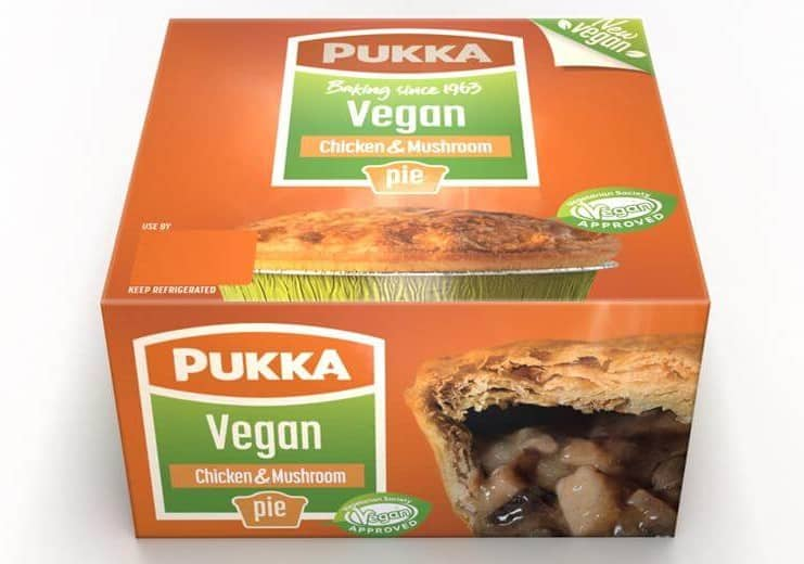Pukka Pies launches vegan pies