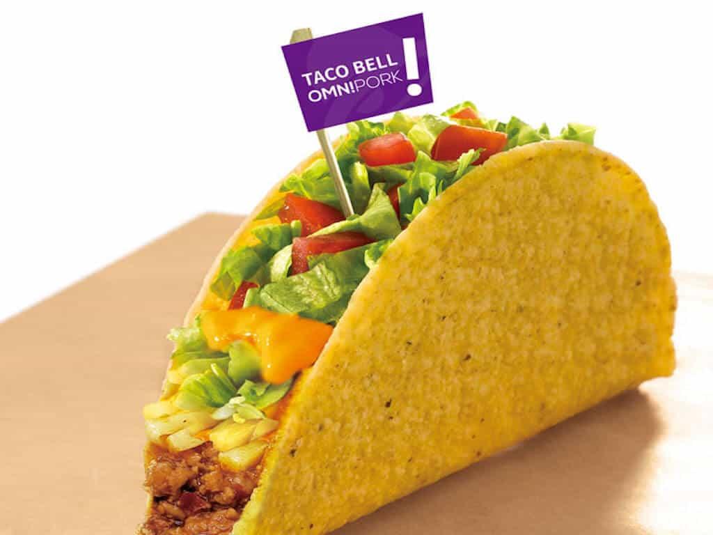 Taco Bell Omnipork
