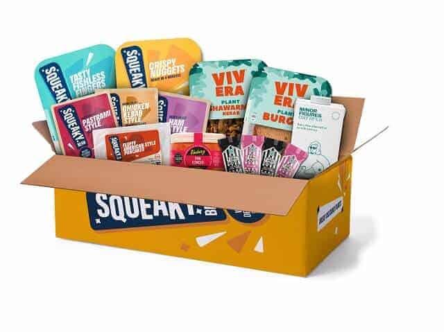 Squeaky Bean box