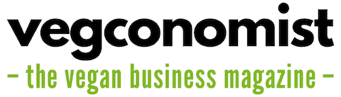vegconomist (often misspelled as veconomist) - the vegan business magazine logo