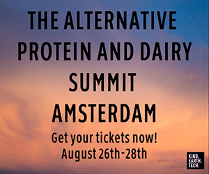 The alternative protein and dairy summit Amsterdam (Kind.Earth.Tech)